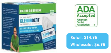 Cleanadent Wipes