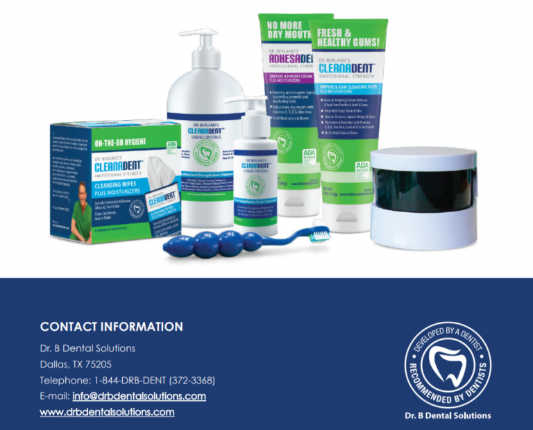 Dr. B Dental Solutions products.